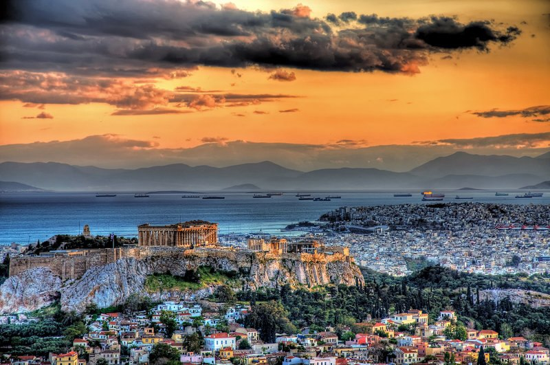 Athens & Acropolis Panoramic Views