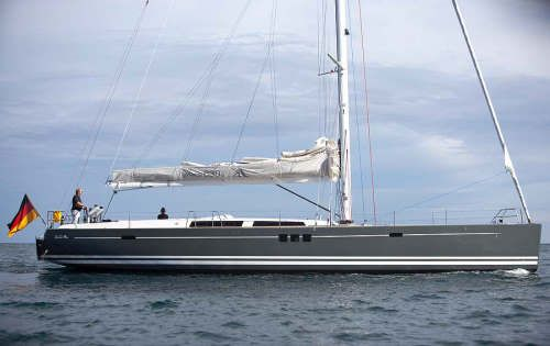 Luxury Crewed Sailing Yacht, Hanse 630E