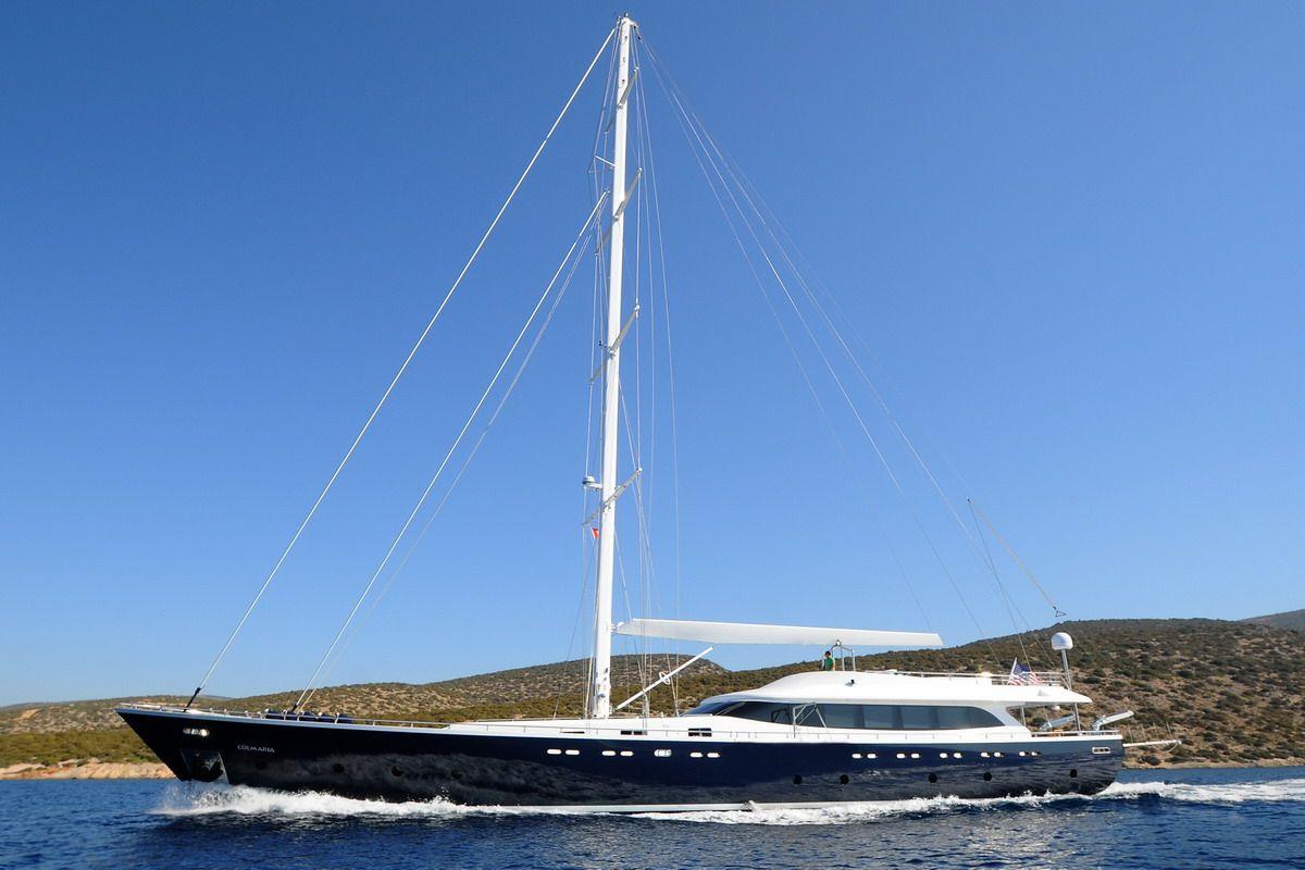 Luxury Sailing Yacht 121 Feet