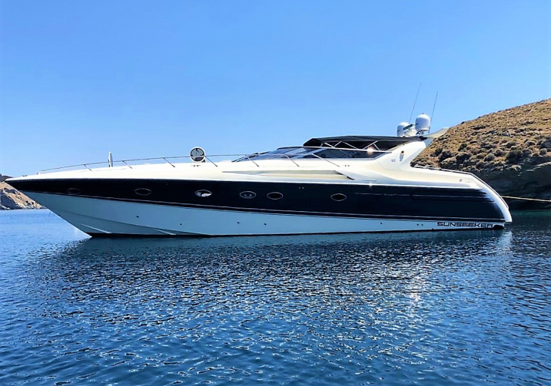 M/Y OBSESSION Sunseeker Camargue 55 Open