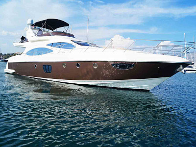 M/Y Chill Out II Azimut 68 Evolution
